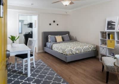 Modern Bedroom Interior at California Palms