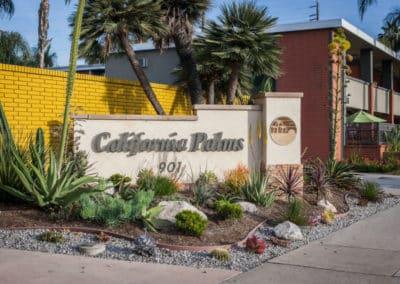 California Palms Monument Sign