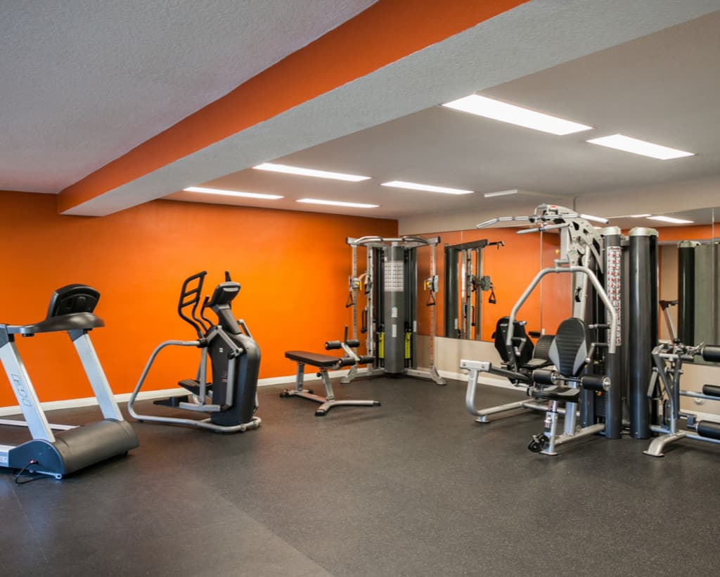 Fitness Room at California Palms Apartments